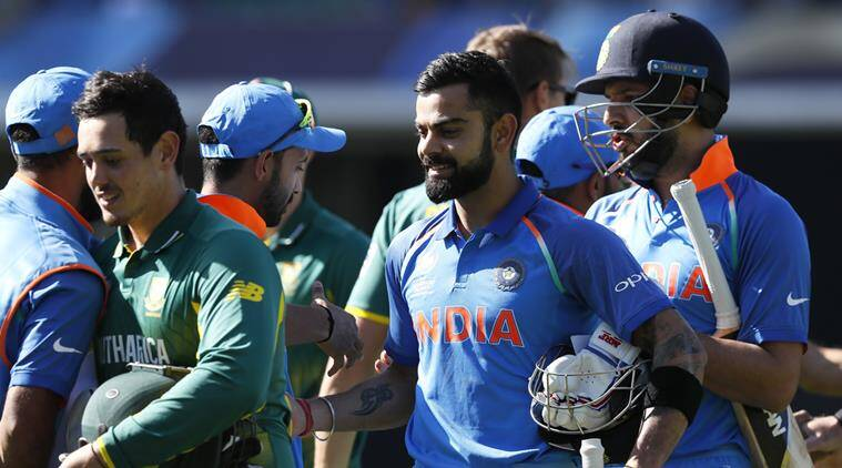 India vs South Africa, ICC Champions Trophy 2017, Indian Express