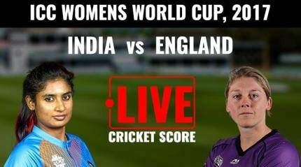 ICC Women's World Cup Live: India vs England
