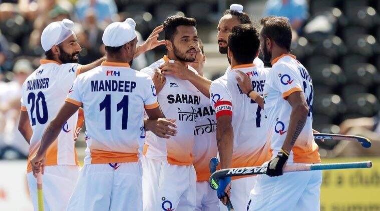 india vs pakistan hockey score, ind vs pak, hockey world league, sports news, hockey news, indian express