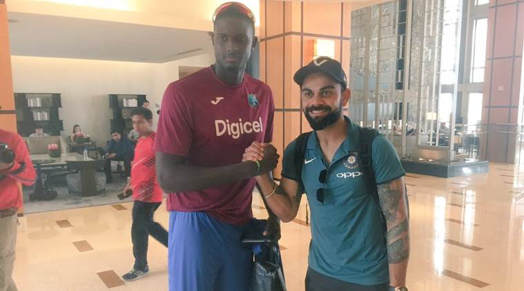 Virat kohli, Jason Holder, India vs West Indies
