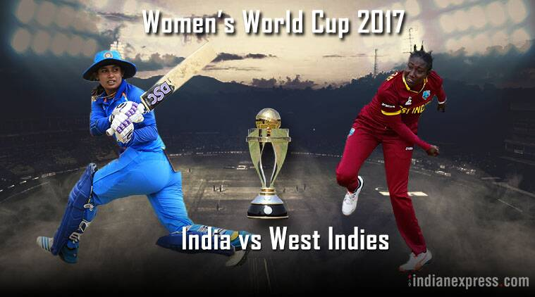 India vs West Indies Live, India women vs West Indies women Live, Women's World Cup live score, Live cricket score, Cricket news, Indian Express