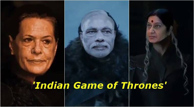 game of thrones, got latest trailer, game of thrones modi, aib got indian politics spoof, all india bakchod game of thrones indian politics spoof, indian express, indian express news