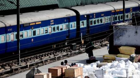 60% of all east-bound trains ran late in May