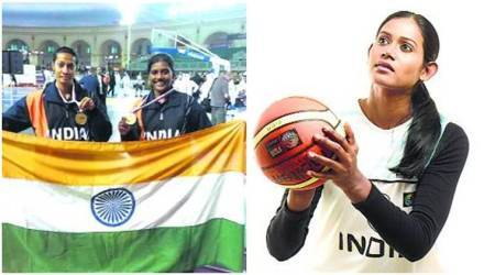 indian basketball, WNBL, geethu anna jose, manisha dange, p anitha, olympics, indian express