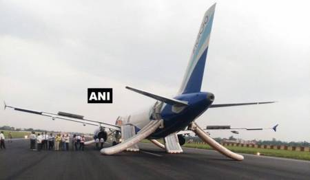 Indigo flight engine stalls during take-off at Patna airport, passengers safe