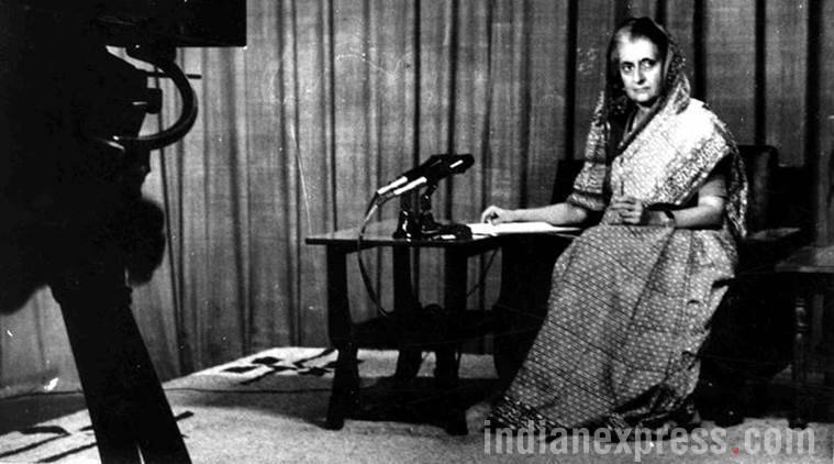 Emergency, Modi emergency speech, Modi emergency, emergency 1975, Indira Gandhi, indian express