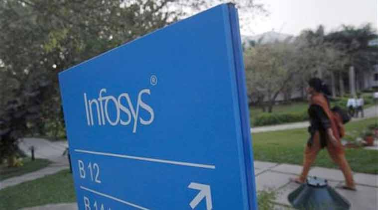 Infosys shares jump on Q1 results