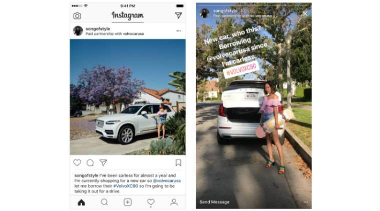 Instagram, Instagram Paid partnership tab, Instagram creator, creator on Instagram, Instagram business