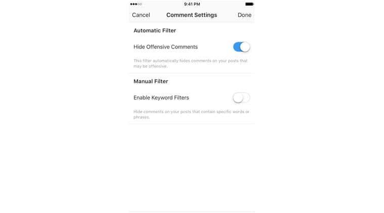 Instagram, Instagram offensive comments, Instagram new tool, Instagram block inappropriate comments