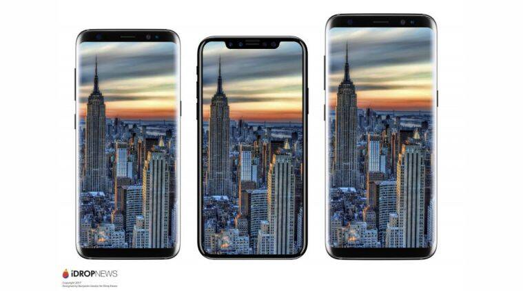 Apple iPhone 8 Dimensions Leaked and Compared with Samsung Galaxy S8
