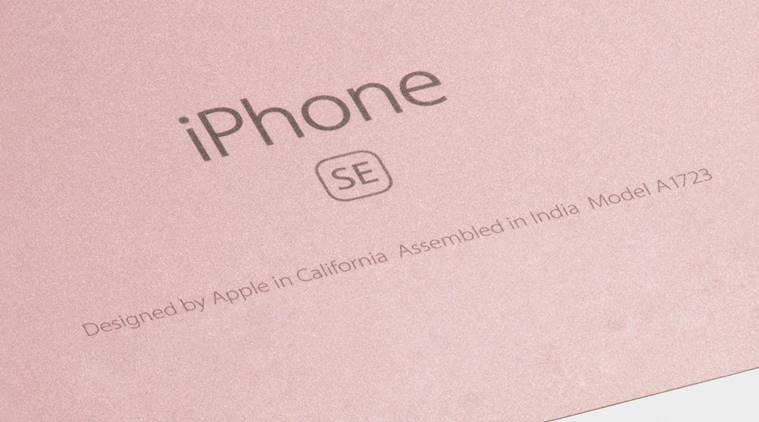 iPhone SE, Made in India, Apple