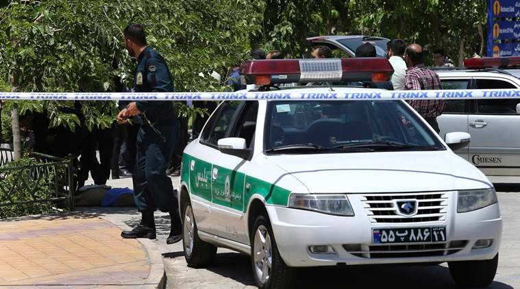 Tehran Terror Attack, Tehran Terror Strike, Tehran Militant Attack, President Rouhani, Middle Eastern Policy, World News, Latest World News, Indian Express, Indian Express News