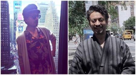 Irrfan Khan turns a hipster for his upcoming Hollywood film The Puzzle in New York, see photos