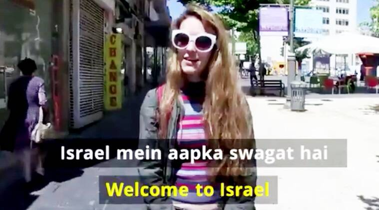 narendra modi, narendra modi in israel, modi in israel, israel welcome message to modi