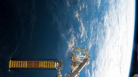 NASA testing roll-up solar panels on ISS