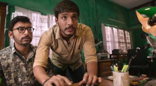 Gautham Karthik image, Ivan Thanthiran movie review, Gautham Karthik