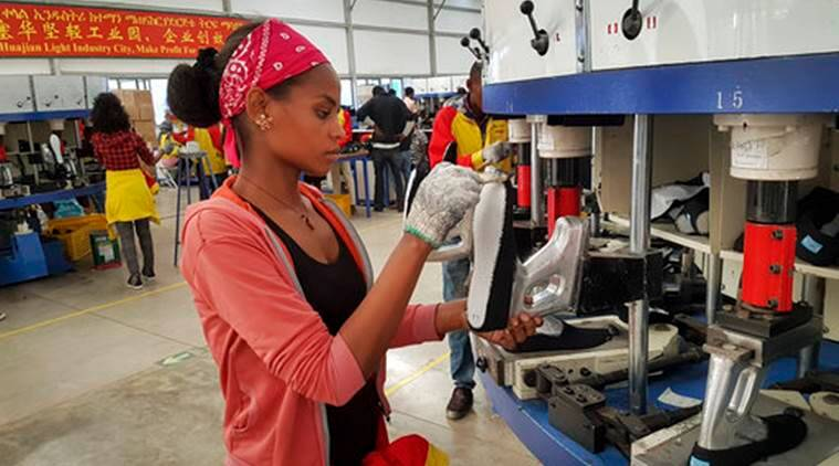 Workers from at Ganzhou Huajian International Shoe City Co., a southeastern  China factory used by Ivanka Trump and other fashion brands, say they've  faced ...