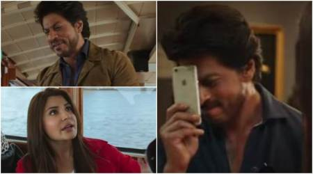 Watch Jab Harry Met Sejal Mini trail 3: Shah Rukh Khan is making excuses to keep Anushka Sharma away from a ring. What ring isthis?