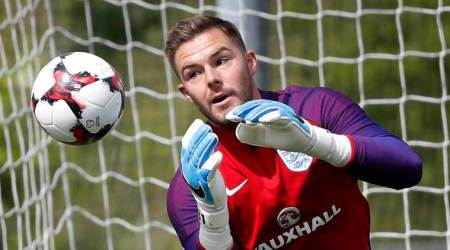 Jack Butland howler gifts Leicester City 1-1 draw at King Power Stadium