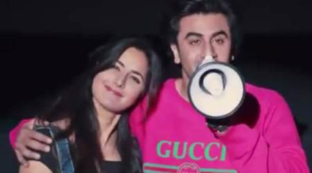 Jagga Jasoos: Katrina Kaif is still family for Ranbir Kapoor. Watch video