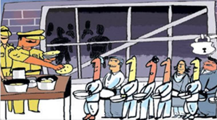 jail food maha spends rs 34 22 per day to feed a prisoner far rh indianexpress com