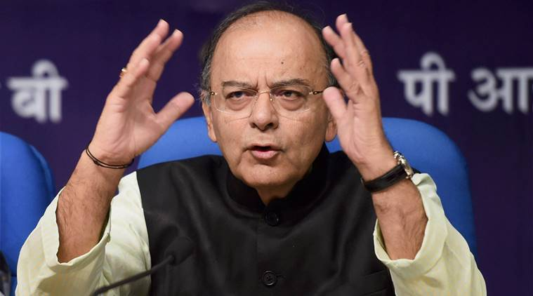 arun jaitley, finance minister, jaitley demonetisation, gdp, india gdp growth, jaitley on gdp, gst news, india news, indian express news