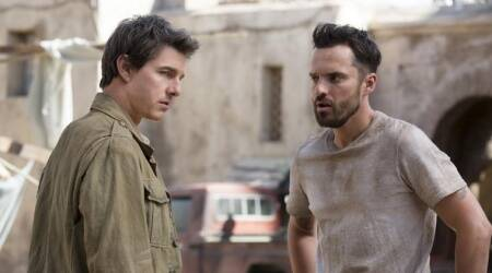 The Mummy actor Jake Johnson says he was initially hesitant about the movie