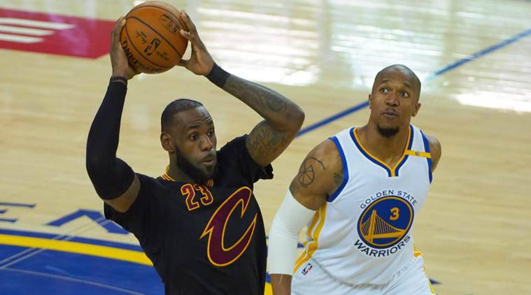 LeBron James, Ceveland Cavaliers, Golden State Warriors