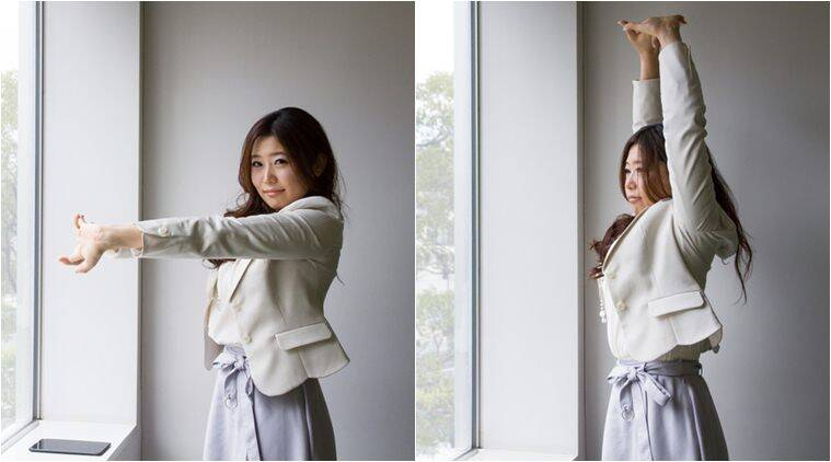 at 1pm everyday these tokyo it workers jump from their desks for a