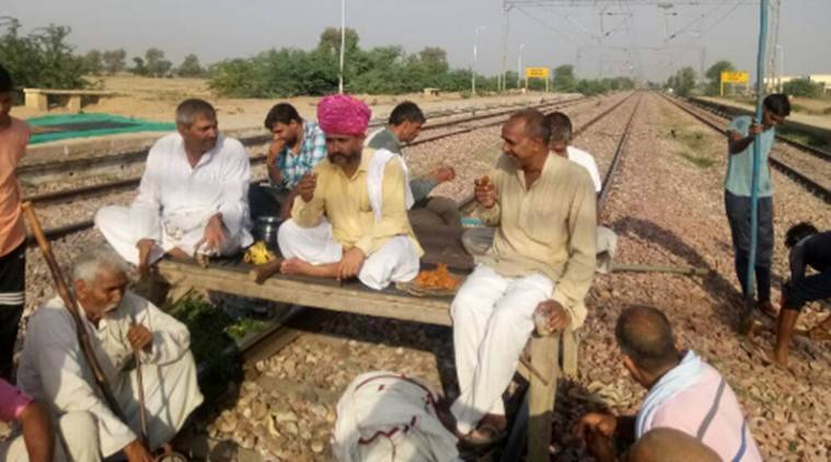 Jat protests, Rajashtan jat protests, Alwar-Mathura rail route , Jat reservation
