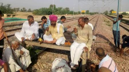 Jat quota stir: protesters block tracks, 80 trains hit