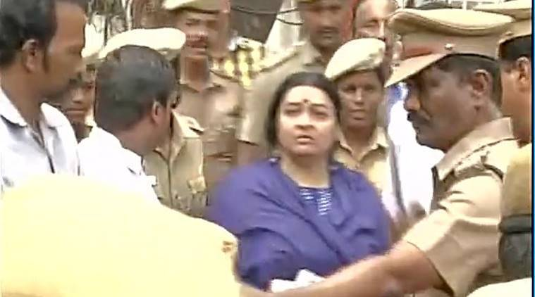 Jaya's niece Deepa Jayakumar denied entry into Poes Garden House