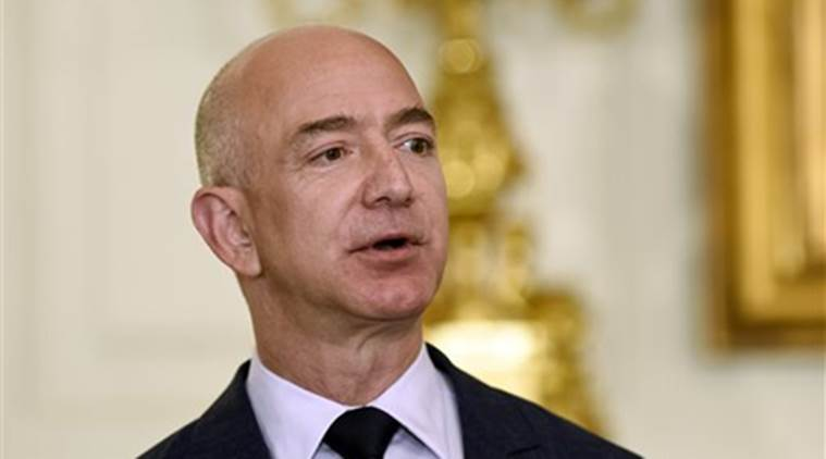 Amazon's Bezos becomes richest man in modern history, with wealth topping $150bn