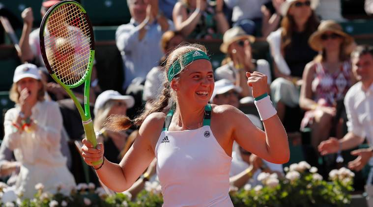 Samba enthusiast Ostapenko finds feet at French Open