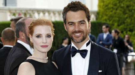 Jessica Chastain marries boyfriend in Italy