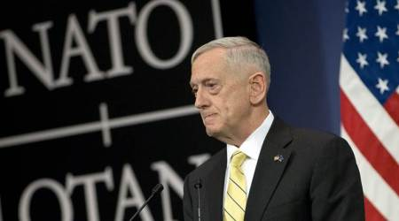 Jim Mattis, chemical attack in Syria, Syria chemical attack, NATO, Jim Mattis on Syria, US on Syria, indian express news