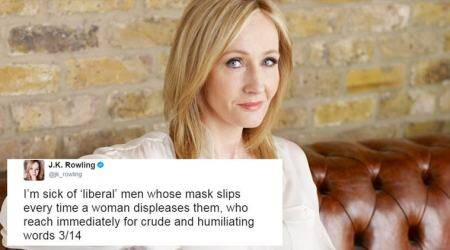 JK Rowling's Twitter tirade against a writer's sexist remark on Theresa May is a mustread