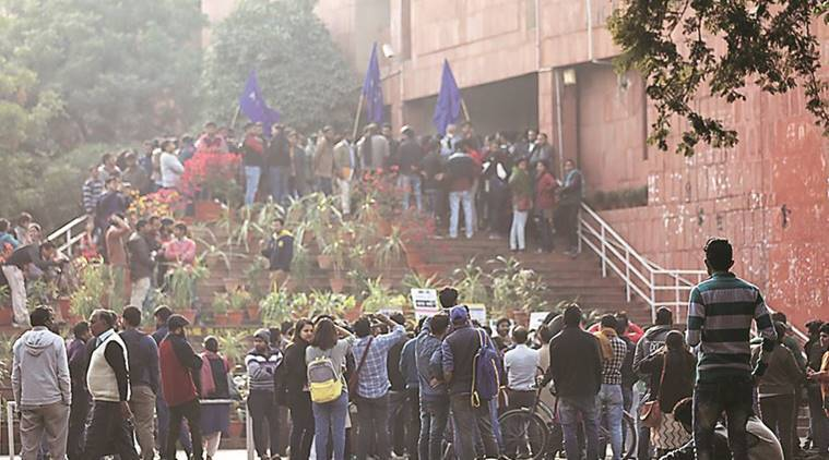 JNU, JNU students, SFI, Najeeb Ahmad, Umar Khalid, G Suresh, india news, JNU News