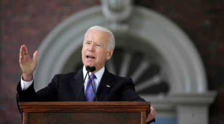 "Former US VP Joe Biden: America in battle for ""the soul"" of nation"