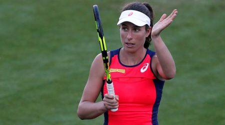 Johanna Konta, Eastbourne, Indian Express