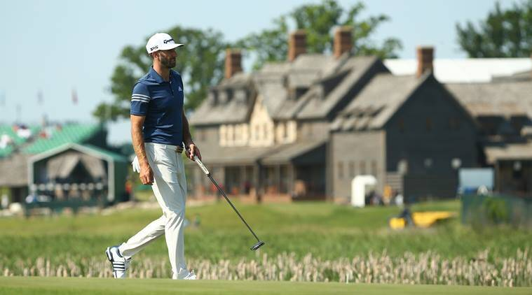 us open, us open golf, dustin johnson