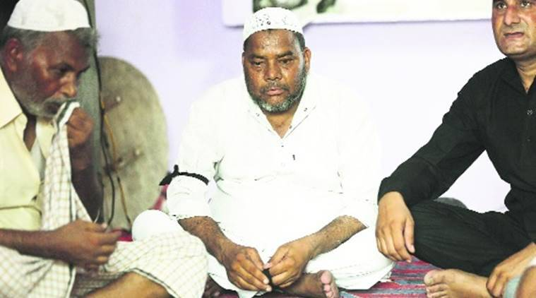 junaid khan family, faridabad lynching, khandawli village, indian express