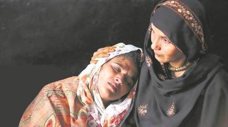 junaid khan family, faridabad lynching, khandawli village, indian express