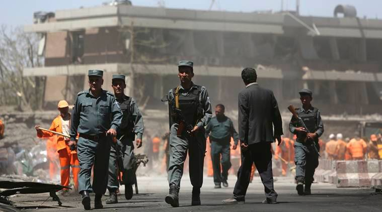 kabul, kabul blast, kabul truck bombing, kabul explosion, Kabul truck bomb blast, world news, latest world news, indian express, indian express news