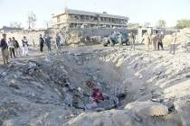 Afghanistan Suicide Blast: Car Explosion Outside Bank In Helmand Province