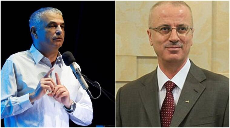 israel palestine conflict, israel finance minister, palestine pm, israel palestine meeting, Moshe Kahlon, Rami Hamdallah, israel news, palestine news, latest news, indian express