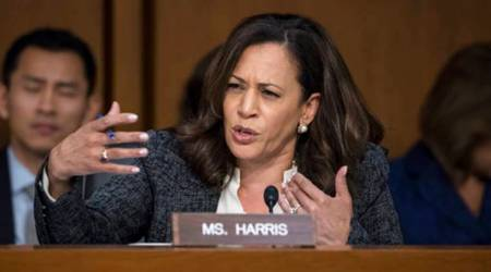 Democrat Sen. Kamala Harris asks tough questions in Jeff Sessions hearing, gets cut off