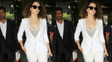 Kangana Ranaut proves that she is the queen of pantsuits