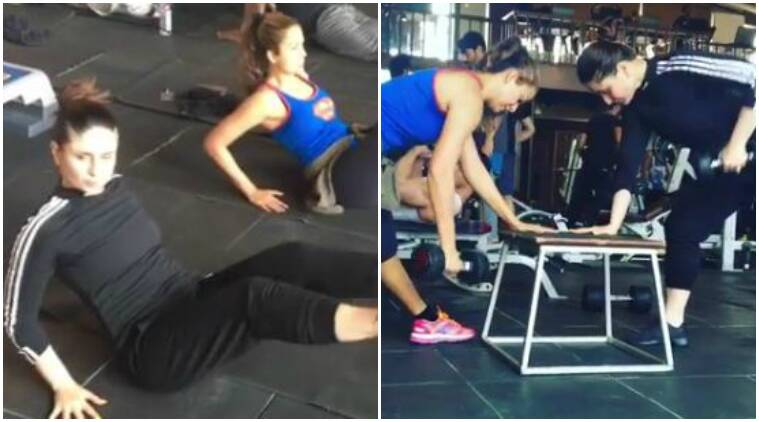 kareena kapoor khan, kareena kapoor khan workout video, kareena kapoor khan weight loss, kareena kapoor khan taimur ali khan, kareena kapoor amrita rao, kareena kapoor veerey di wedding