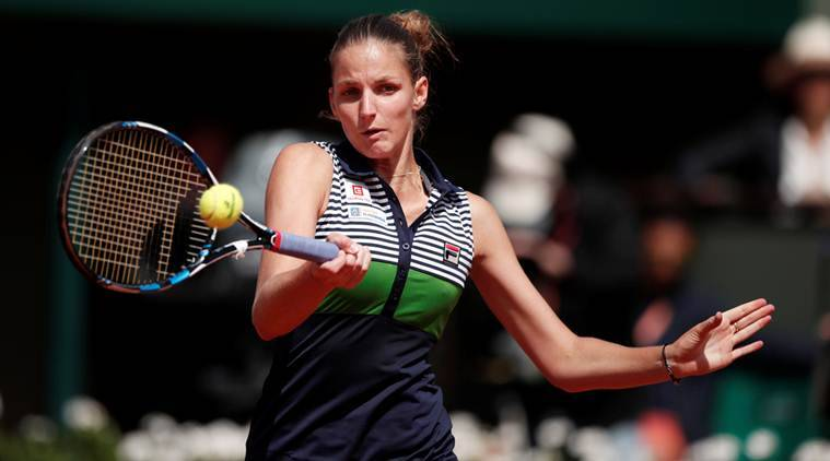 Karolina Pliskova, French Open 2017, Indian Express